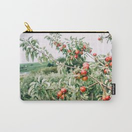 Red Apples In Orchard Tree Carry-All Pouch
