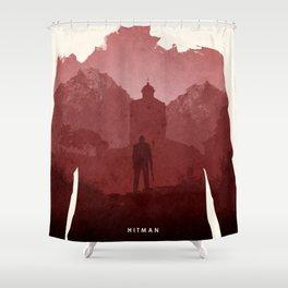 Hitman Shower Curtain