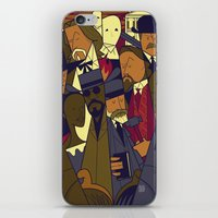 django iPhone & iPod Skins featuring Django Unchained by Ale Giorgini