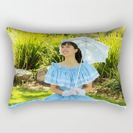 Southern Belle Portrait Rectangular Pillow