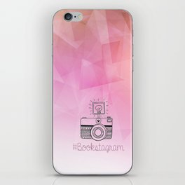 BOOKSTAGRAM iPhone Skin