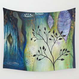 Reflection of Beginnings Wall Tapestry