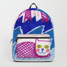 Cats on Water Backpack