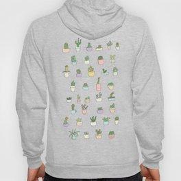 Cactus, succulents, plants! Hoody