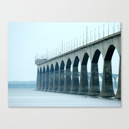 Confederation Bridge Prince Edward Island Canvas Print