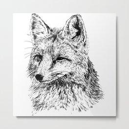 Oh, For Fox Sake Metal Print