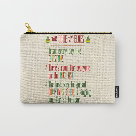 Buddy the Elf! The Code of Elves Carry-All Pouch