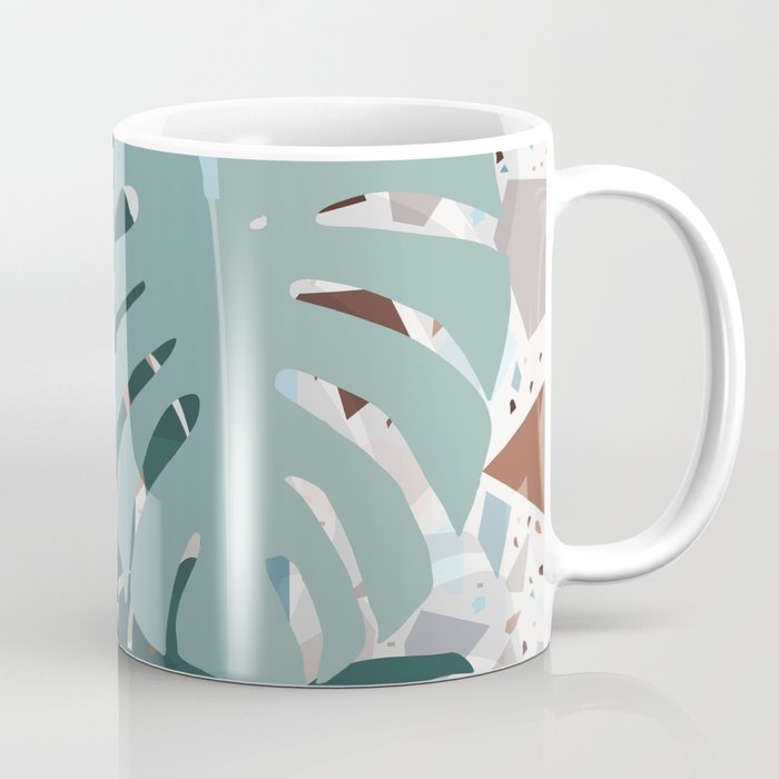 leaves+terrazzo Coffee Mug