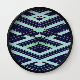 Art Deco Even Faster Wall Clock