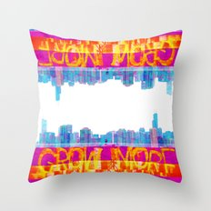 Grow More | Project L0̷SS   Throw Pillow