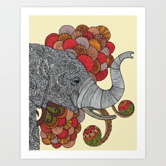 Dreams of India Art Print