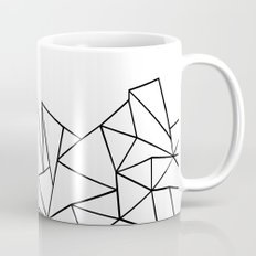 Ab Peaks White Coffee Mug