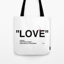 """""""LOVE"""" Tote Bag"""