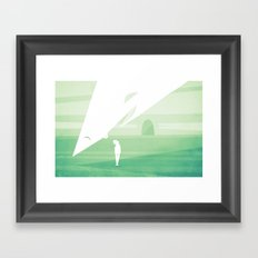 you're bigger in person Framed Art Print