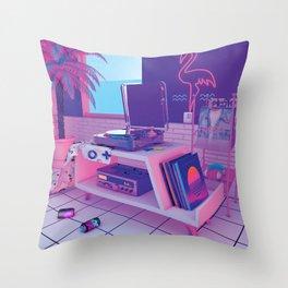 spinningwave Throw Pillow
