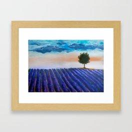 Lavandula Framed Art Print