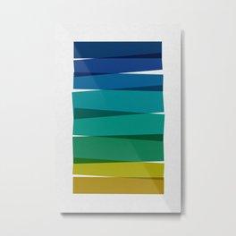 Stripes I Metal Print