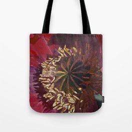 Rad Red Poppy Tote Bag