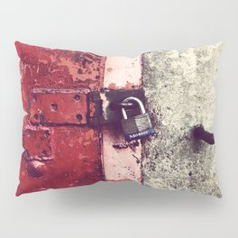 Columbia, SC Riverfront Locked Door Pillow Sham