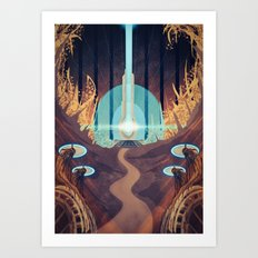 Conduit of Ilos Art Print
