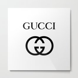 Gucci Metal Print