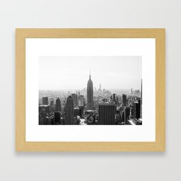 NYC Manhattan Framed Art Print