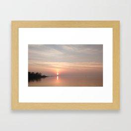 Jennings Beach, Fairfield, CT Framed Art Print
