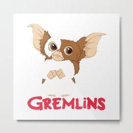 Gizmo - Gremlins Metal Print