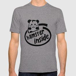 hamster inside T-shirt