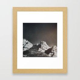 Dusty Canyon Framed Art Print