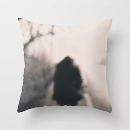 loneliness 2 Throw Pillow