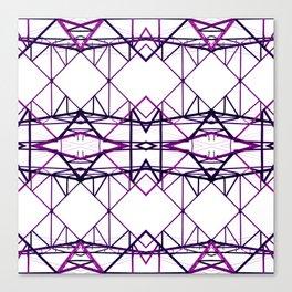 purple iron II Canvas Print