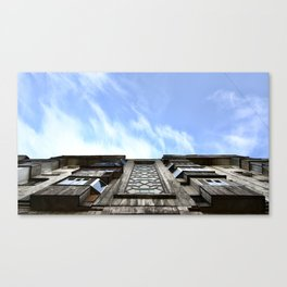 Kazakhstan blue sky Canvas Print