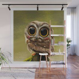 Hoot on! Wall Mural