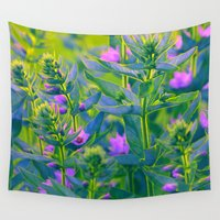 sunshine Wall Tapestries featuring Sunshine. by Mary Berg