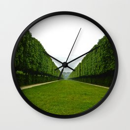 Between The Hedges Wall Clock