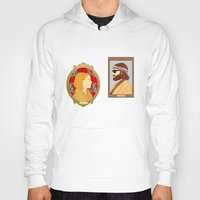 the royal tenenbaums Hoodies featuring The Royal Tenenbaums by Anna Valle