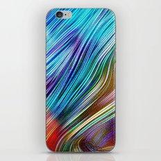 Сolor line iPhone & iPod Skin