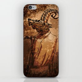 GOAT THRONE iPhone Skin