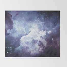 A Sky Made of Diamonds Throw Blanket