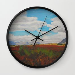 Standing in the Valley Wall Clock