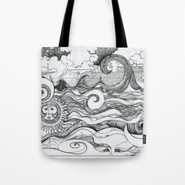 Returning to Wrightsville Beach Tote Bag