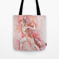 Float, watercolor & pastel Tote Bag