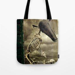 Pet Skeleton Tote Bag