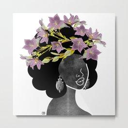 Wildflower Crown II Metal Print