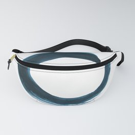 Enso Serenity No.6q by Kathy Morton Stanion Fanny Pack