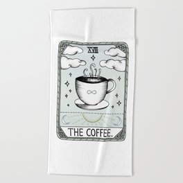 The Coffee Beach Towel