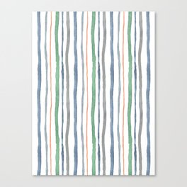 Cacophony Stripes Canvas Print