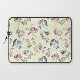 Talk birdy to me - Pink & Cream Laptop Sleeve