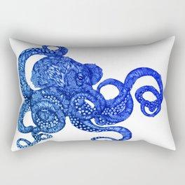 Ombre Octopus Rectangular Pillow